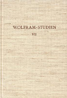 Wolfram Studien VII PDF