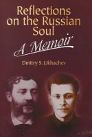 Reflections on the Russian Soul PDF