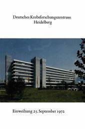 Deutsches Krebsforschungszentrum Heidelberg: Festansprachen und Glückwünsche