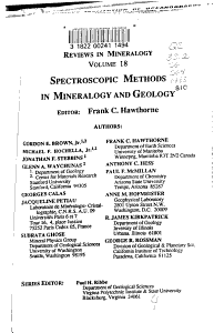 Spectroscopic Methods in Mineralogy and Geology