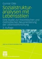 Sozialstrukturanalysen mit Lebensstilen PDF