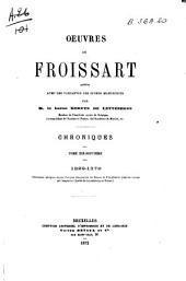 Chroniques de Froissart: 1322-1378
