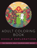 Adult Coloring Book  Doodle Explorations