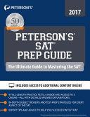SAT Prep Guide 2017 Book