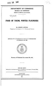 Food of Young Winter Flounders: Volumes 900-920