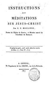 Instructions et méditations sur Jésus-Christ