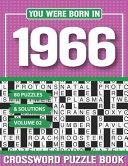 You Were Born In 1966 Crossword Puzzle Book