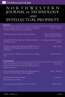 Northwestern Journal of Technology & Intellectual Property, Vol. 10.3