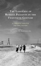 The Language of Russian Peasants in the Twentieth Century PDF