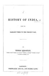 A History of India: From the Earliest Times to the Present Day