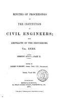Minutes of Proceedings of the Institution of Civil Engineers PDF