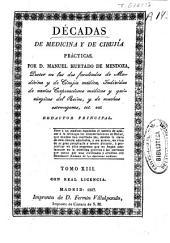 Décadas médico-quirúrgicas: Volumen 13