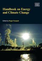 Handbook on Energy and Climate Change PDF