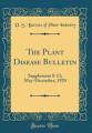The Plant Disease Bulletin