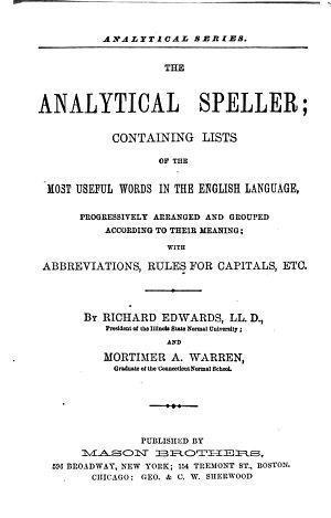 The Analytical Speller