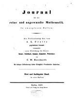 Journal für die reine und angewandte Mathematik: Band 53