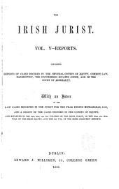 The Irish Jurist: Volume 5