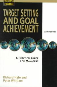 Target Setting and Goal Achievement Book