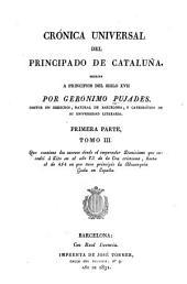 Crónica universal del principado de Cataluña: Volúmenes 3-4