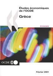 Études économiques de l'OCDE : Grèce 2001