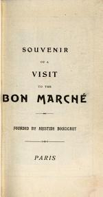 Souvenir of a Visit to the Bon Marché