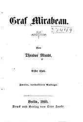 Graf Mirabeau: Bände 1-2