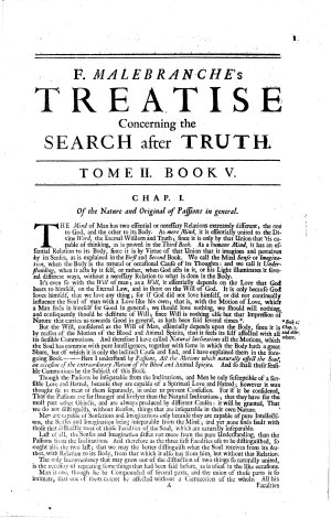 Father Malebranche his Treatise concerning the Search after Truth     To which is added the author s Treatise of Nature and Grace     All translated by T  Taylor     The second edition  corrected     With the addition of a Short Discourse upon Light and Colours  etc