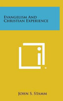 Evangelism and Christian Experience