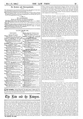The Law Times: Volume 77