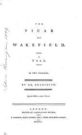 The vicar of Wakefield. 2 vols. [in 1].