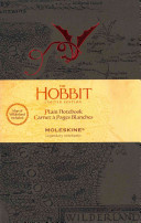 Moleskine The Hobbit Limited Edition Notebook  Large  Plain  Brown  Hard Cover  5 x 8 25