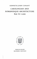 CAROLINGIAN AND ROMANESQUE ARCHITECTURE 800 1200 PDF