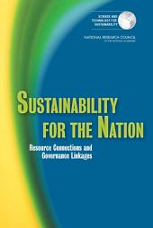Sustainability for the Nation: Resource Connections and Governance Linkages