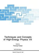 Techniques and Concepts of High-Energy Physics VII