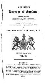 Collins's Peerage of England; Genealogical, Biographical, and Historical: Volume 9