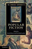 The Cambridge Companion to Popular Fiction PDF