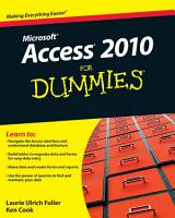 Access 2010 For Dummies PDF
