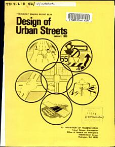 Design of urban streets PDF