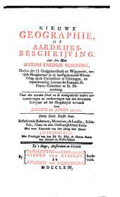 Nieuwe geographie, of aardrijksbeschrijving: Volume 2