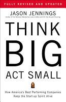 Think Big  Act Small PDF