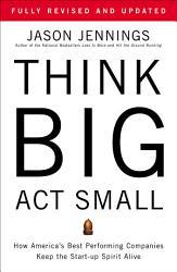 Think Big Act Small Book PDF