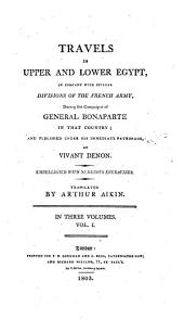 Travels in upper and lower Egypt, tr. by A. Aikin