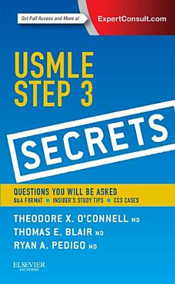 USMLE Step 3 Secrets E Book PDF
