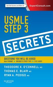 USMLE Step 3 Secrets E Book Book