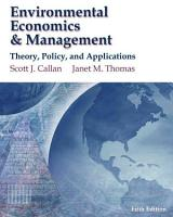 Environmental Economics and Management   Theory  Policy and Applications PDF
