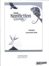 15276:TFK: NonFiction Readers: Emergent:Assessment Guide Book