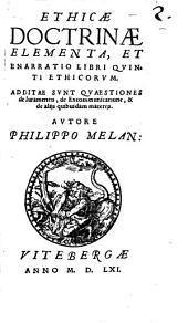 Ethicae Doctrinae Elementa