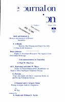 YALE JOURNAL ON REGULATION VOL  11 NO  1 PDF