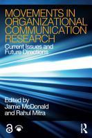 Movements in Organizational Communication Research PDF