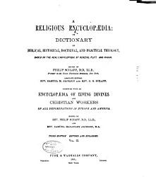 A Religious Encyclopaedia  Or Dictionary of Biblical  Historical  Doctrinal  and Practical Theology PDF